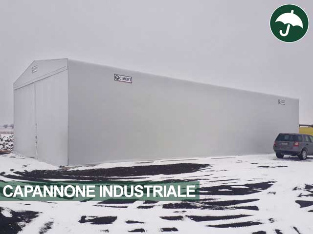 Capannone industriale modello Only Civert