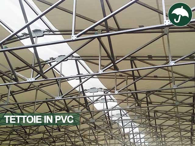 copertura per tettoie in pvc udine