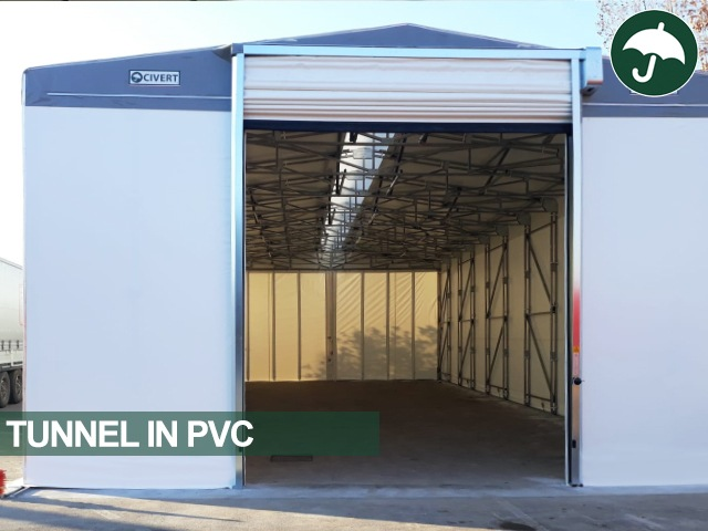 Tunnel mobile in pvc modello Only Civert