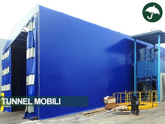 tunnel mobile pvc padova