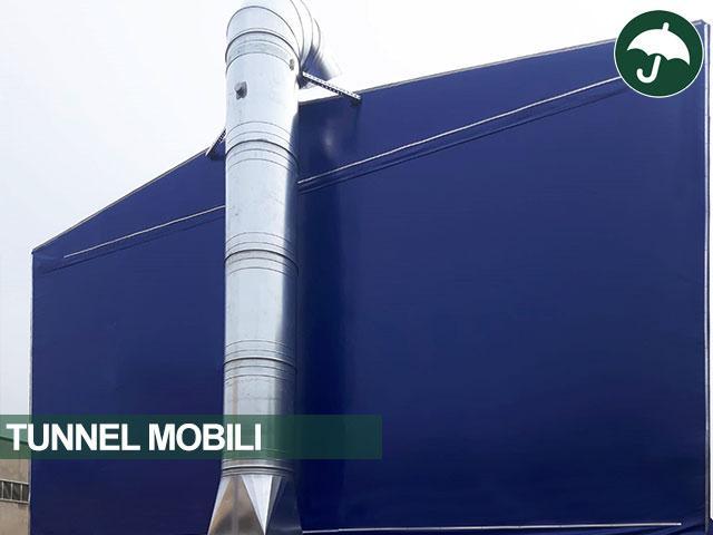 tunnel mobile telo pvc