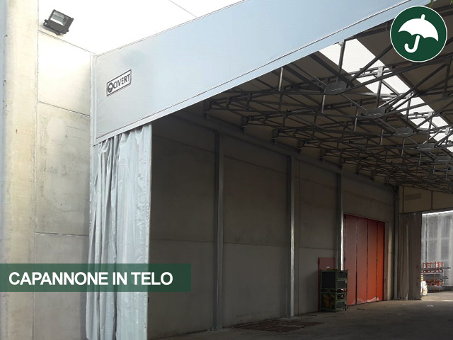 capannone in telo lifting italia