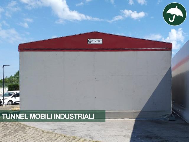 spostamento tunnel mobili industriali