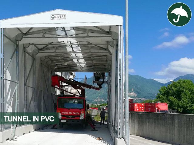 tunnel pvc avellino