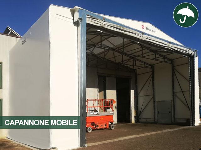 capannone mobile bazzichet