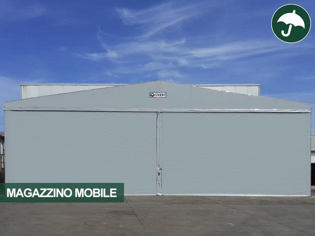 Copertura frontale modello Long per magazzino mobile Civert