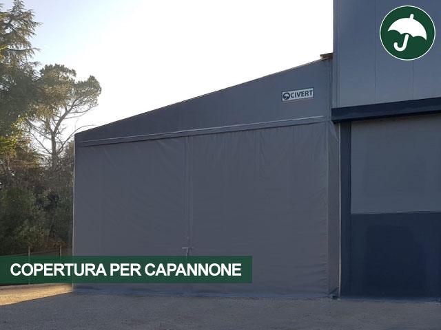 copertura per capannone padova