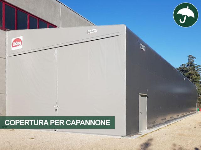 copertura capannone pvc