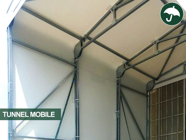 Copertura del capannone mobile Interplast