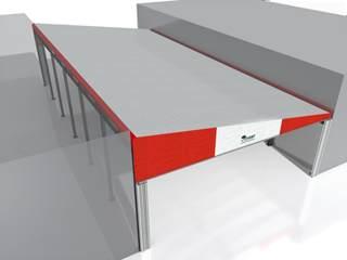 copertura in pvc tettoia mono pendenza