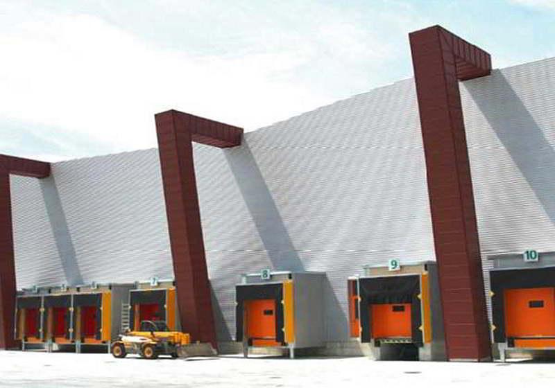 Dock house baia carico Civert