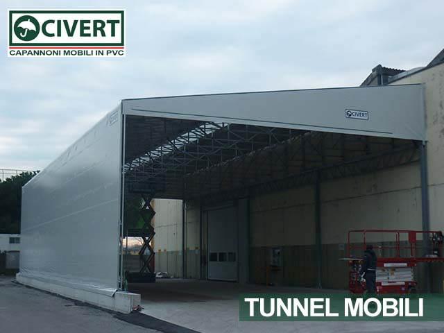 Galleria immagini dei capannoni scorrevoli in pvc della Civert per applicazioni agricole