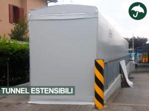 Tunnel estensibile capannone modello Only Civert