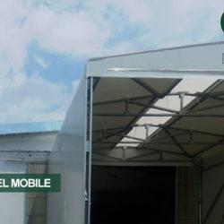 Tunnel Mobile per Interplast a Portomaggiore