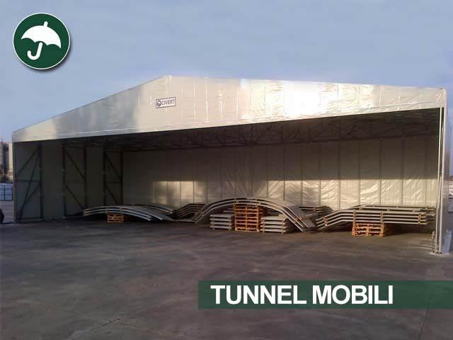 Galleria immagini dei capannoni scorrevoli in pvc della Civert per applicazioni industriali