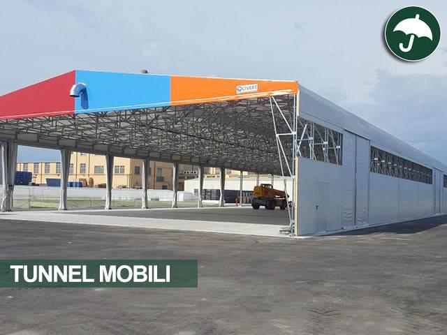 Tunnel mobile in pvc personalizzato della civert