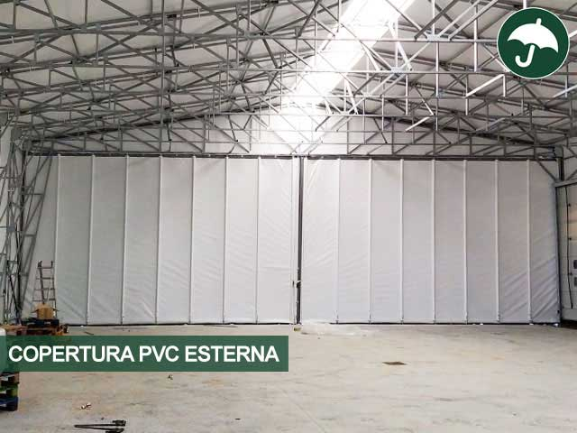 interno capannone per CDA