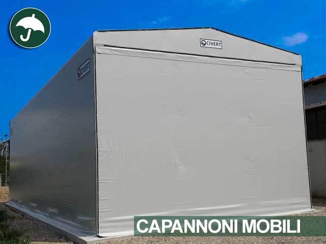 Noleggio capannoni in pvc