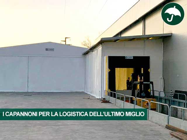 capannoni logistica ultimo miglio