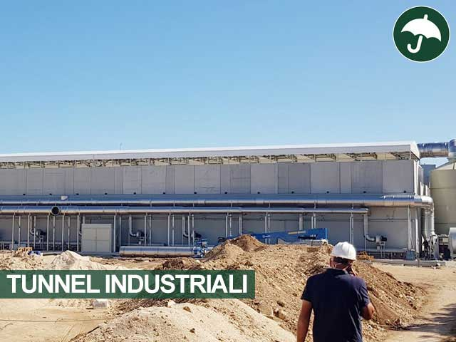 tunnel pvc industriale
