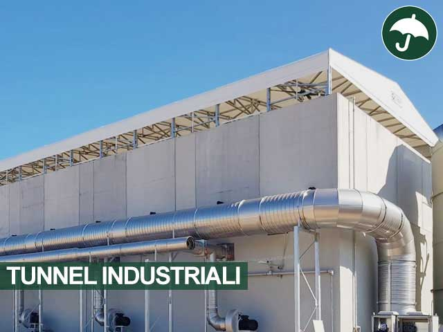 tunnel industriale cantiere